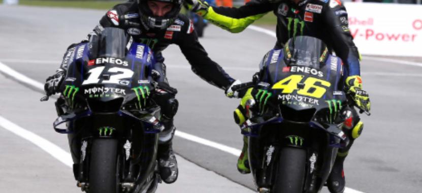 Vinales Berharap Valentino Rossi Bertahan di Yamaha