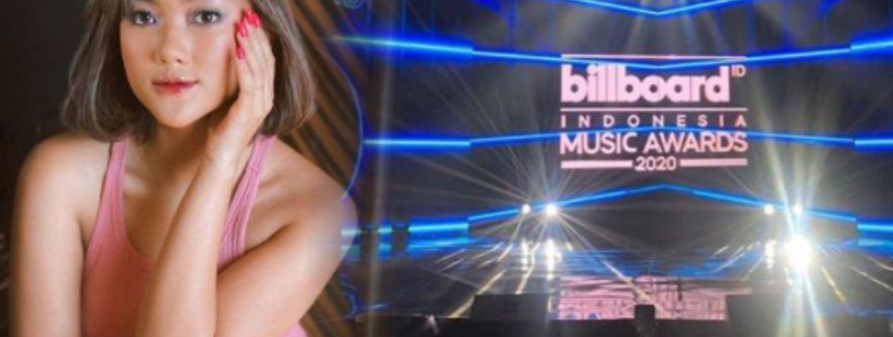 Marion Jola Sabet Penghargaan Billboard Indonesia Music Awards 2020