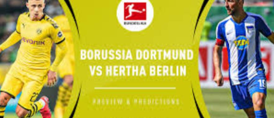 Dortmund vs Hertha Berlin, Pemenang Untuk BVB